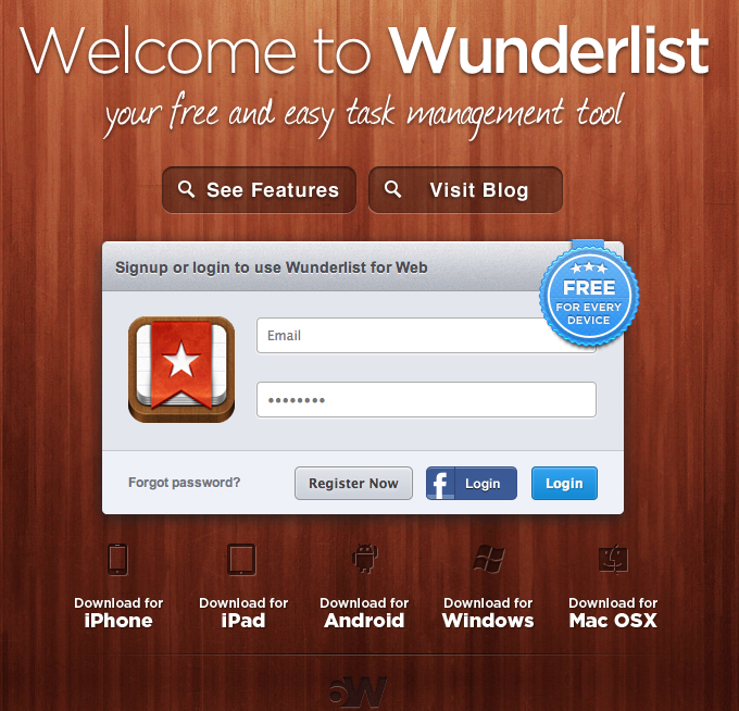 Wunderlist | Task Management At Its Best